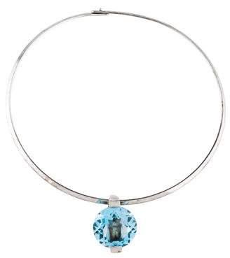 Pianegonda Blue Topaz Collar Necklace