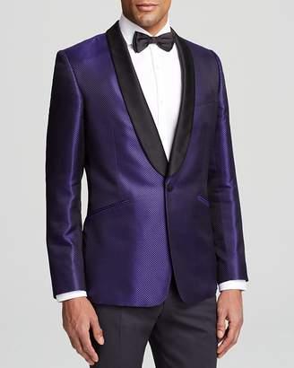 DUCHAMP Diamond Silk Blazer - Classic Fit - 100% Exclusive $1,095 thestylecure.com