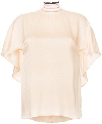 Fendi flared blouse