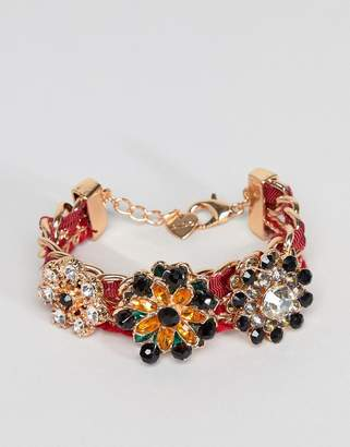 Aldo Jewel Cluster Bracelet