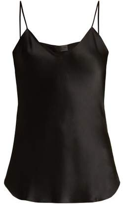 Nili Lotan Isabella Silk Cami Top - Womens - Black
