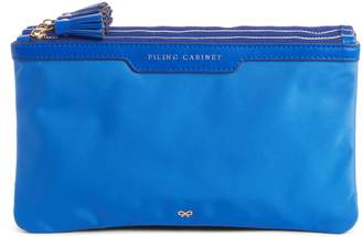 Anya Hindmarch Filing Cabinet Nylon Pouch