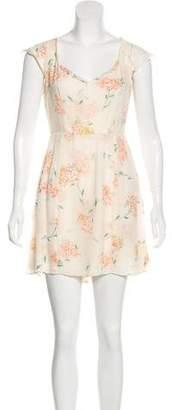 Reformation Printed Mini Dress