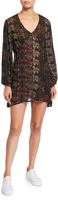 Raga Yasmin Printed Long Sleeve Tunic