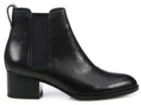 Rag & Bone Walker Leather Block Heel Booties