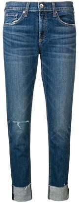 Rag & Bone turn-up skinny jeans