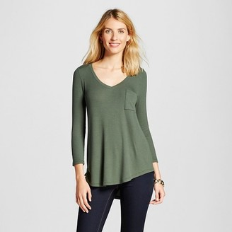 Merona Women's Rib Swingy T-Shirt $17.99 thestylecure.com