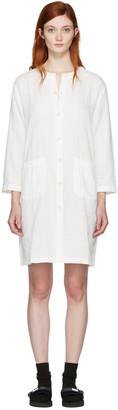 Blue Blue Japan White Shirt Dress $285 thestylecure.com