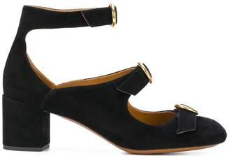 Chloé multi buckle Mary-Jane pumps