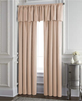Colcha Linens Cambric Peach Tailored Valance Bedding