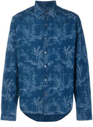 Jeckerson palm tree print shirt