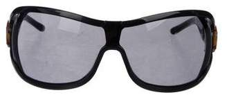 Gucci Horsebit Shield Sunglasses