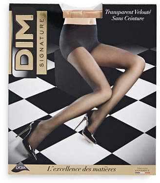 Dim Sheer Waistless Pantyhose