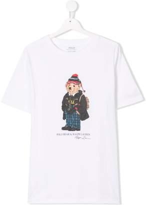 Ralph Lauren Kids TEEN Polo Bear T-shirt
