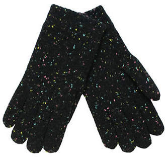 Fits Girls Rainbow Speckle Knit Gloves
