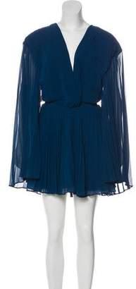 Fame & Partners Pleated Mini Dress w/ Tags