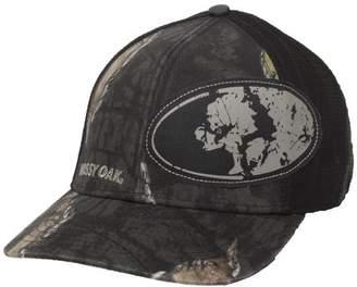 Mossy Oak Eclipse Camo Stretch Fit Cap; Large / X-Large