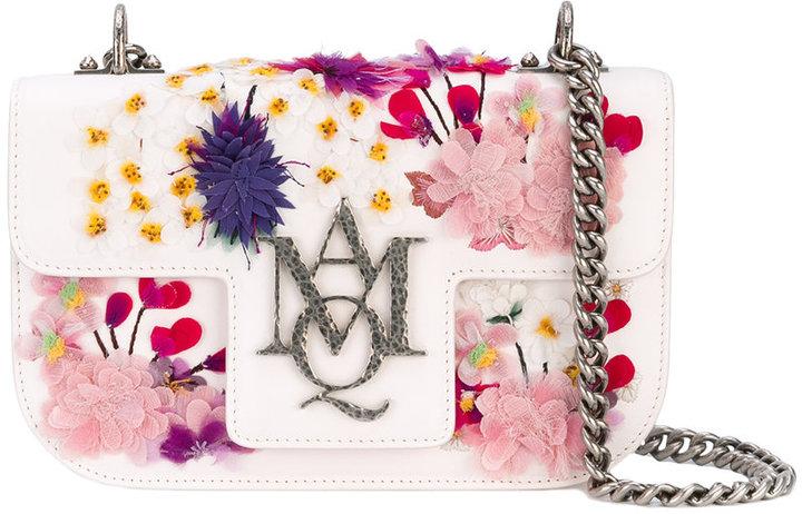 Alexander McQueenAlexander McQueen Insignia clutch satchel
