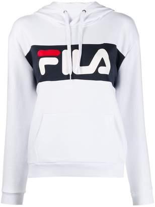 Fila logo hoodie