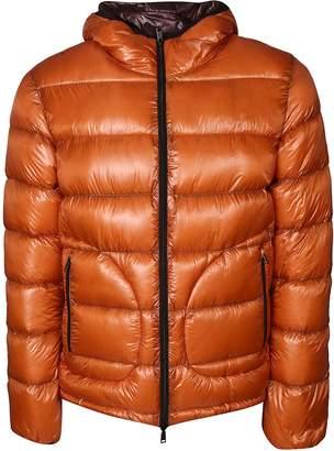 Herno Zipped Hooded Padded Jacket