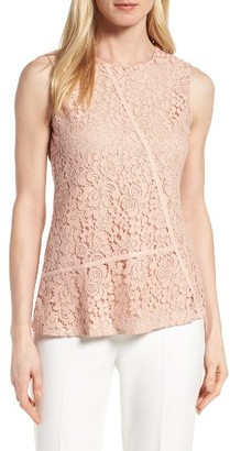 Women's Boss Etopaly Lace Top $195 thestylecure.com