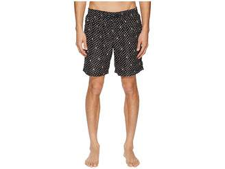Dolce & Gabbana Mid Length Polka Dot Swimsuit Boxer w/ Bag