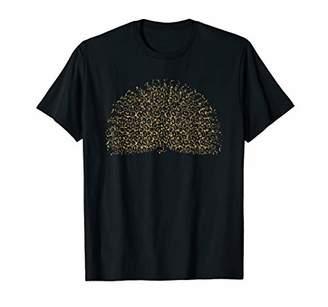 Peacock Leopard Print Bird Peahen Animal Lover Women Gift T-Shirt