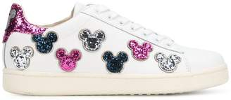Moa Master Of Arts Mickey Mouse glitter sneakers
