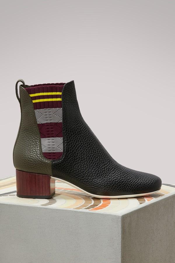 Fendi Marie Antoinette boots