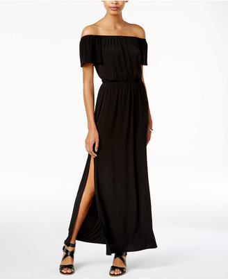 Bar Iii Off-The-Shoulder Maxi Dress, Only at Macy's $79.50 thestylecure.com