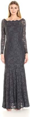 Decode 1.8 Women's Off Shoulder Lace Gown