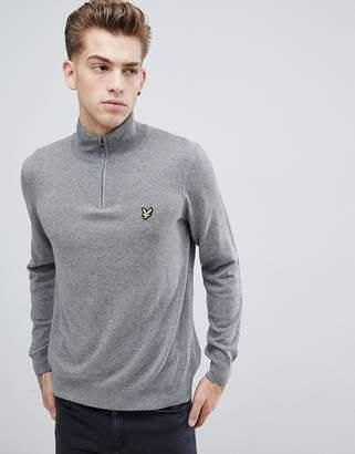Lyle & Scott 1/4 zip sweater