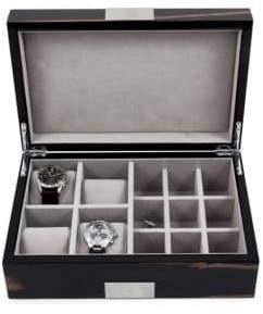 Bey-Berk Lacquered Ebony Wood Watch Box