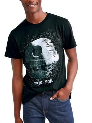 Star Wars Movies & TV Death Star Epic Fail Men's Graphic T-shirt