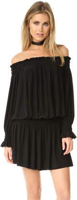 Norma Kamali Kamali Kulture Peasant Dress $185 thestylecure.com