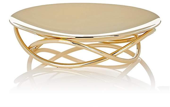 Glow 24k-Gold-Plated Medium Dish