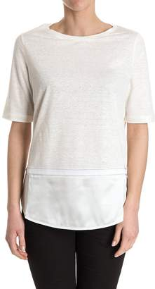 Fabiana Filippi Linen And Cotton T-shirt