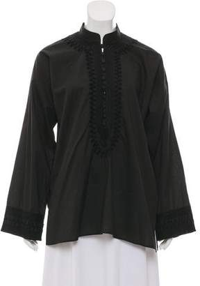 Givenchy Button Up Embroidered Shirt
