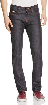 Naked & Famous Superskinny Guy Stretch Selvedge Super Slim Fit Jeans in Indigo $166 thestylecure.com