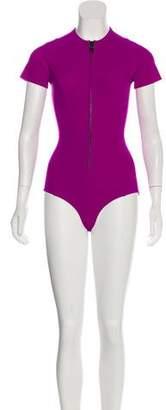 Lisa Marie Fernandez Neoprene Contour Swimsuit
