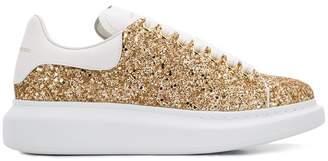 Alexander McQueen glitter oversized sneakers