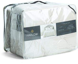 6pc Palisades Velvet Comforter Set
