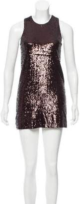 Tory Burch Sequin Embellished Mini Dress