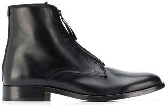 Givenchy zip ankle boots
