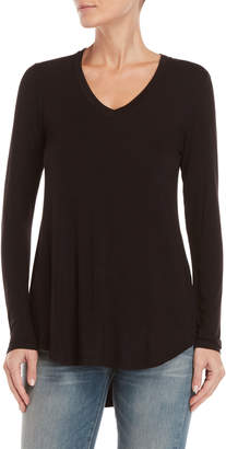 philosophy V-Neck Long Sleeve Tunic