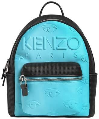 Kenzo Kombo Neoprene & Leather Backpack