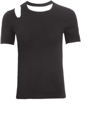 Alice + Olivia ROSLYN CUT OUT TEE
