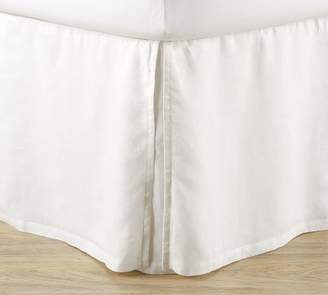 Pottery Barn Belgian Linen Bedskirt - Midnight