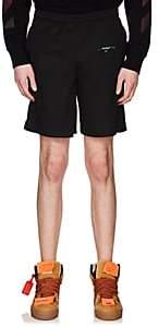 Off-White Men's Mesh Shorts-Black
