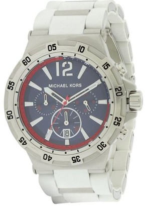 Michael Kors Men's Silicone Wrapped Chronograph Watch MK8297
